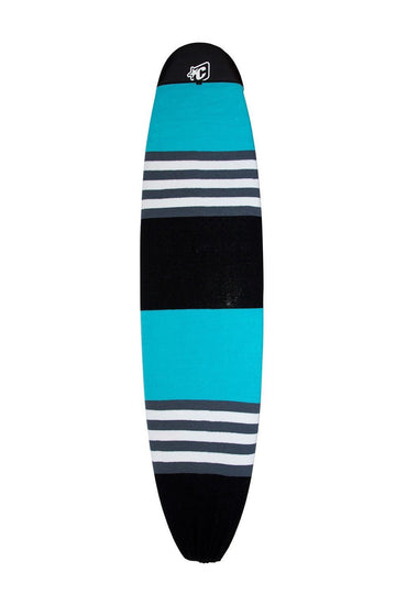Creatures Of Leisure LONGBOARD STRETCH SOX - AQUA BLACK Shop HERE