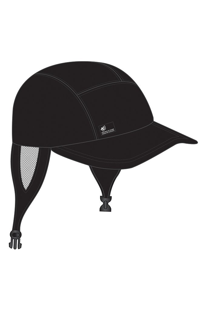 Creatures Of Leisure SURF CAP - BLACK Shop HERE