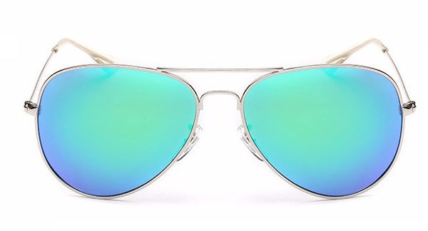 FREE MEN'S SUNGLASSES - Silver Barracuda