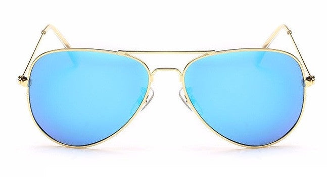 FREE Gold Aviator Sunglasses