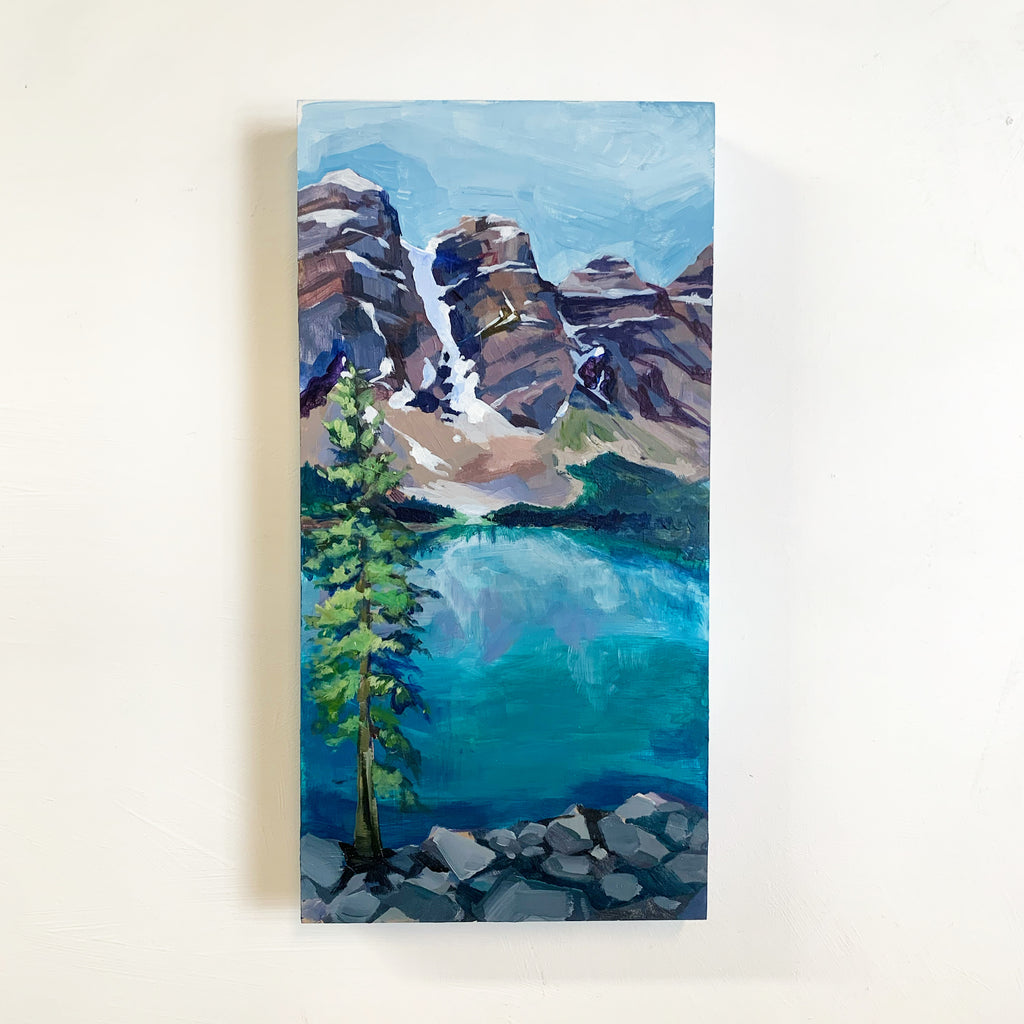 Moraine Lake Light Study