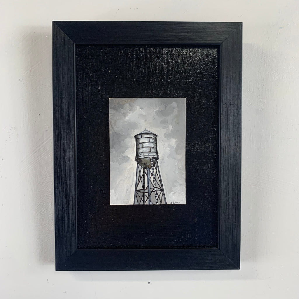 Copy of Water Tower Mini Oil Painting