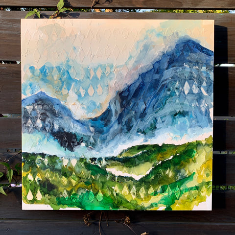 "Mountain Series - ""Misty"" 20"" x 20"""
