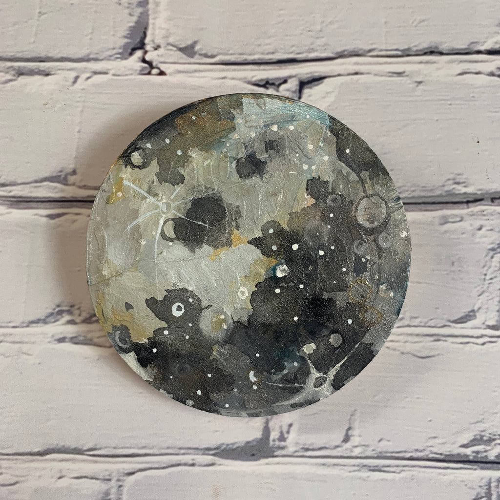 "Lunar Collection - Mini Moon 6"" Diameter  I"