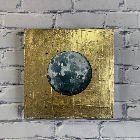 "Lunar Collection: Spring 2020 12"" x 12"" Gold Leaf"