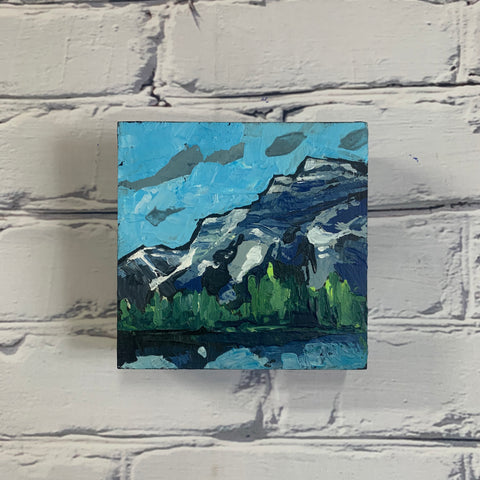 "Mountain Views 5"" x 5"""