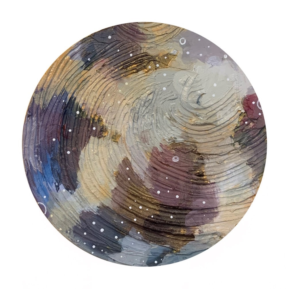 Lunar Collection - Dusted in Gold Moon 8""