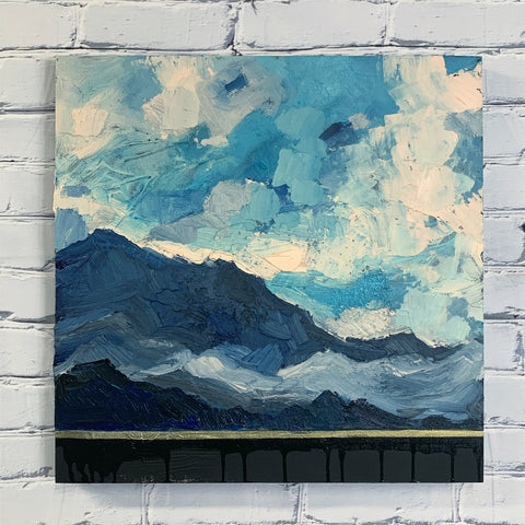 "Mountain View 20"" x 20"""