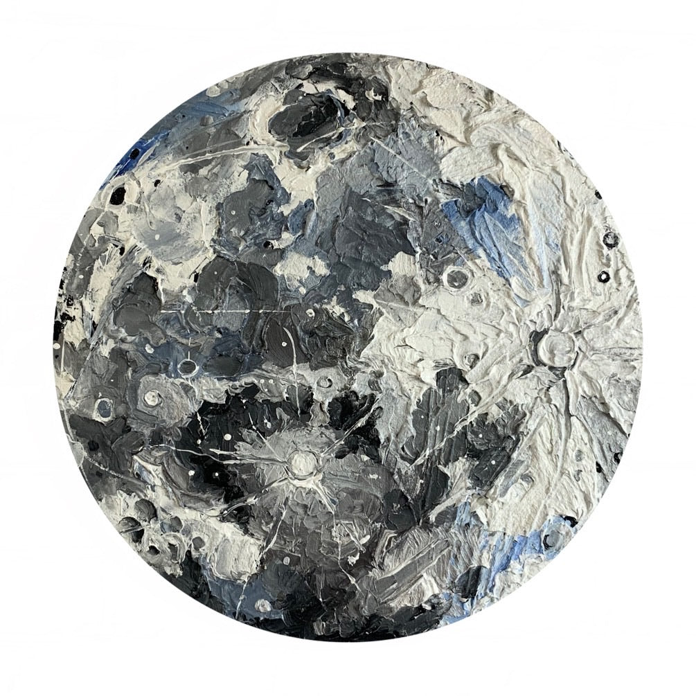 2020 Lunar Collection - Full Moon in texture 18""