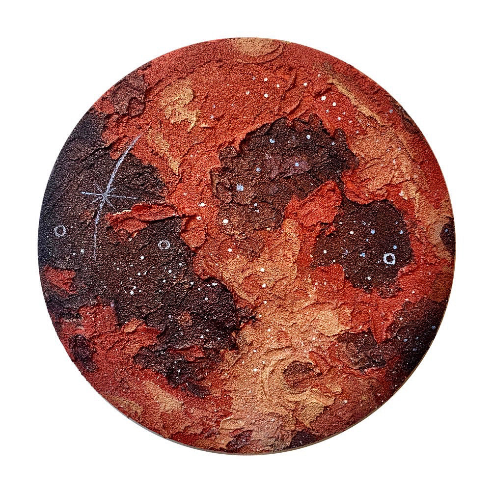 The Lunar Collection - Red Moon 12""