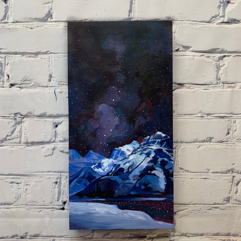 "Canmore Night Sky 8"" x 16"""
