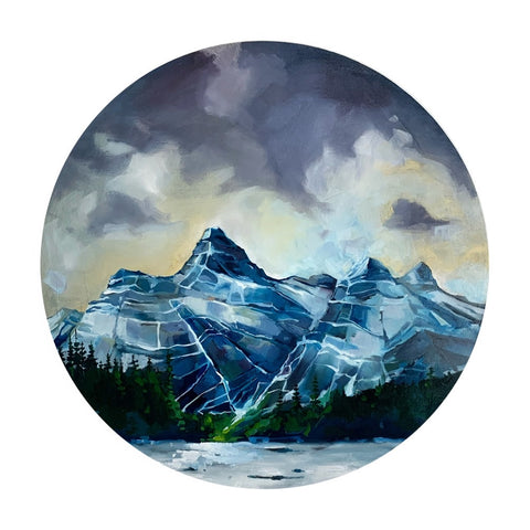 "Jasper Mountain Range 24"" diameter"
