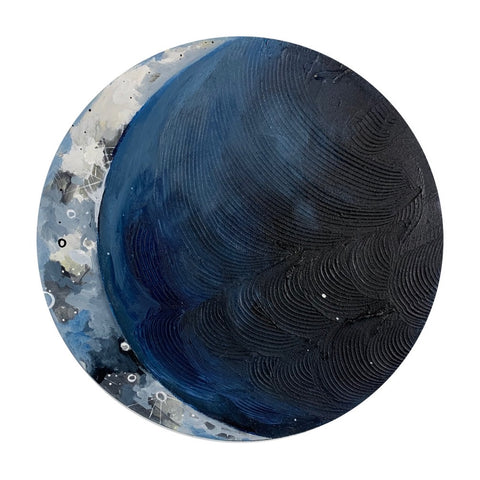 Lunar Collection - Calm and Blue 14""