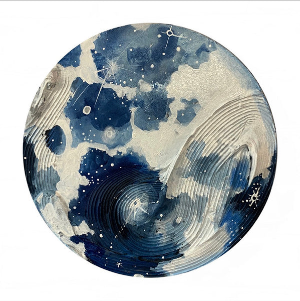 2020 Lunar Collection: Textured Full Moon 12""