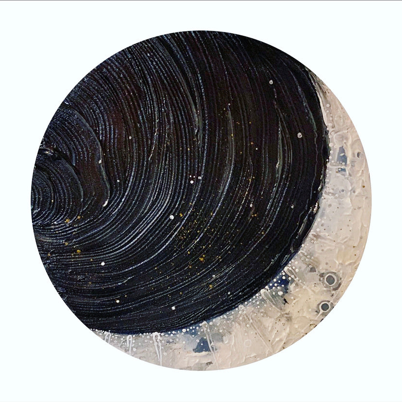 2020 Lunar Collection - Bronze Pigmented Moon 12""