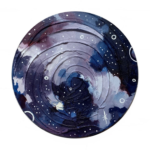 Lunar Collection - Night sky Moon 8""