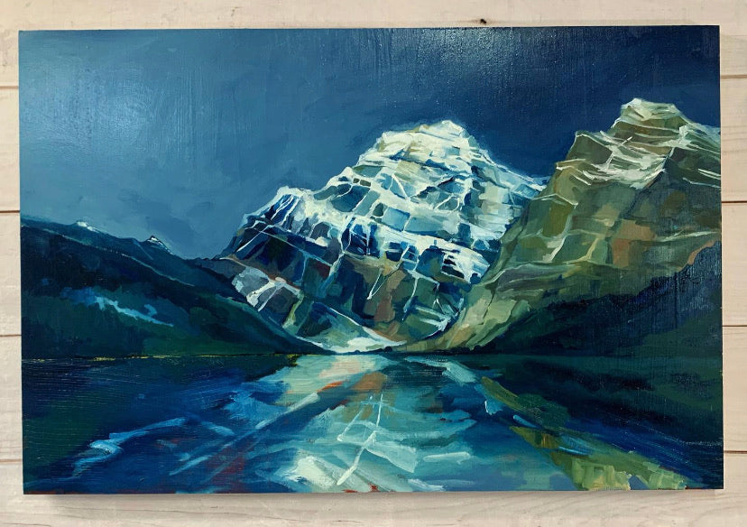 "Mount Edith Cavell 24"" x 36"""
