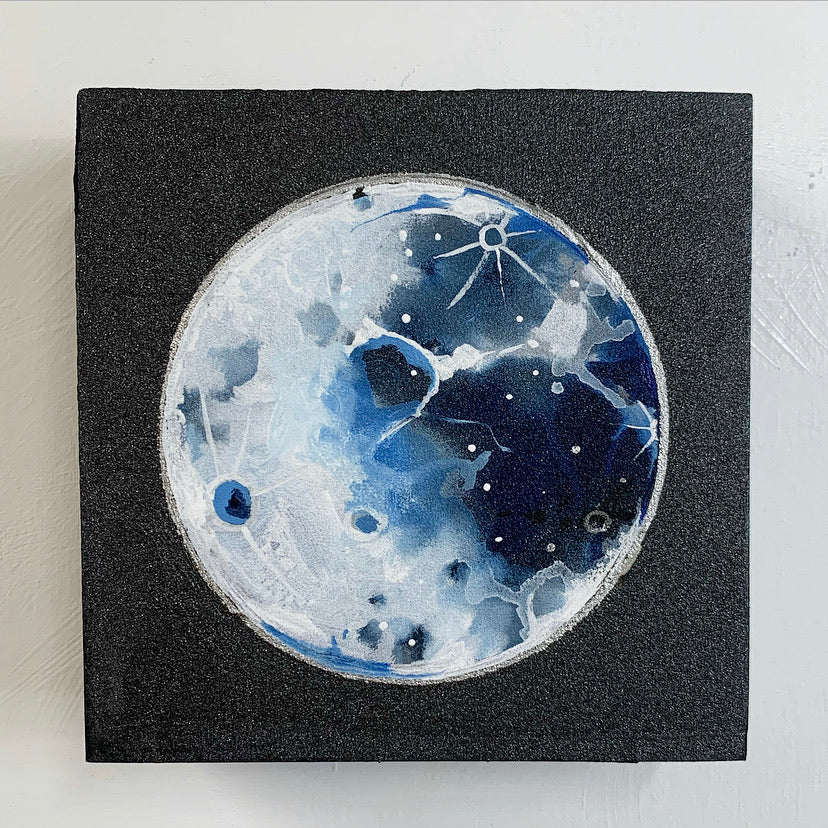 Lunar Collection - Full moon on Micaceous