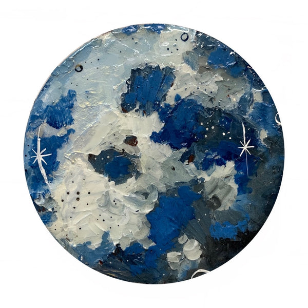 Lunar Collection - Blue Moon 8""