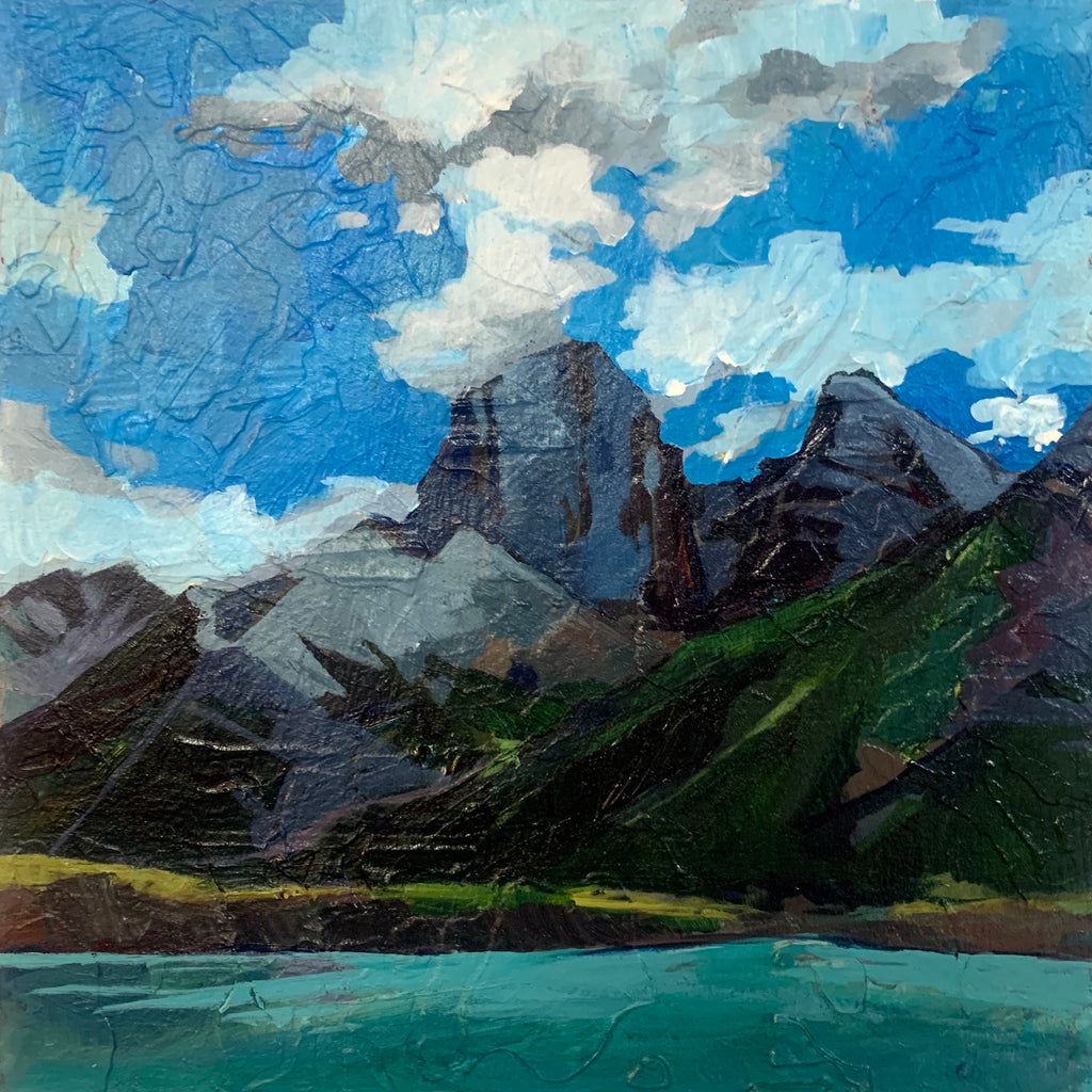 Three Sisters from Rundle Resevoir