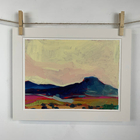 Southwestern landscape with Yellow