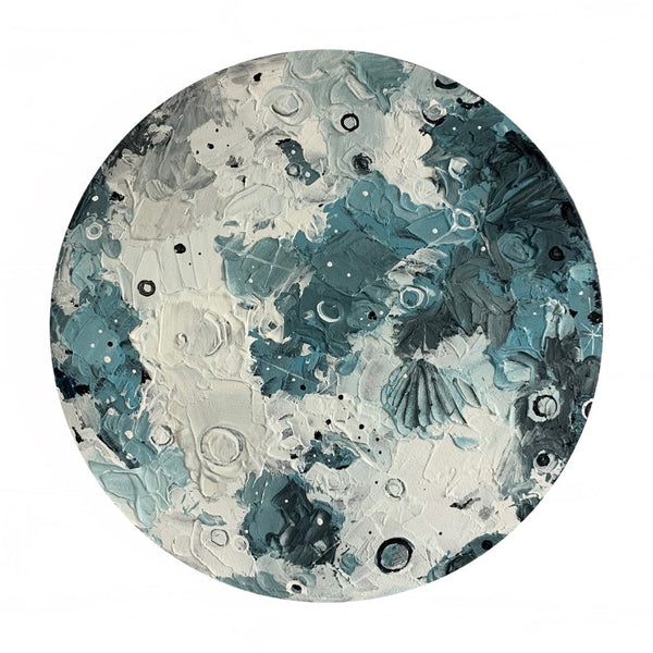Lunar Collection - Wane Moon 12""