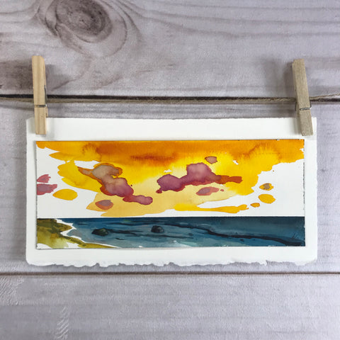 Kauai Inspired Original Watercolor