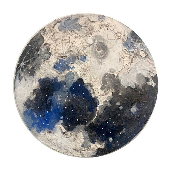 The Lunar Collection - Crackled moon 12""