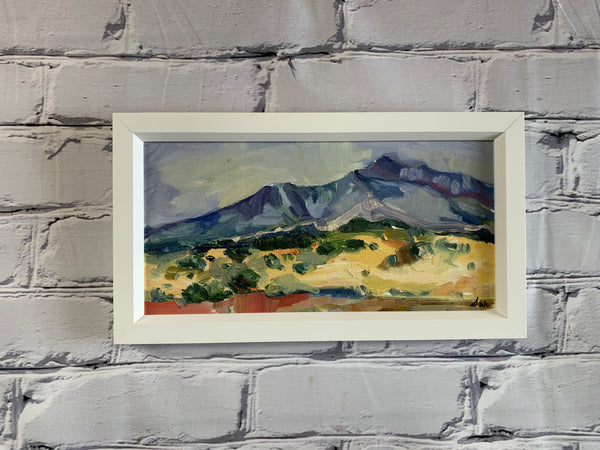 "Desert Mountain 6"" x 12"""