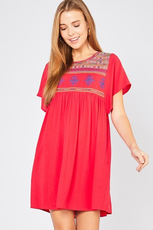 Summer Salsa Dress