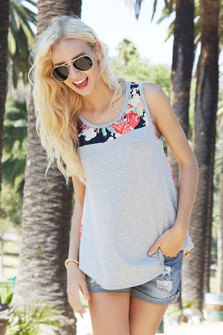 Floral Love Tank