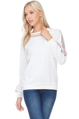 Snowy White Sweater