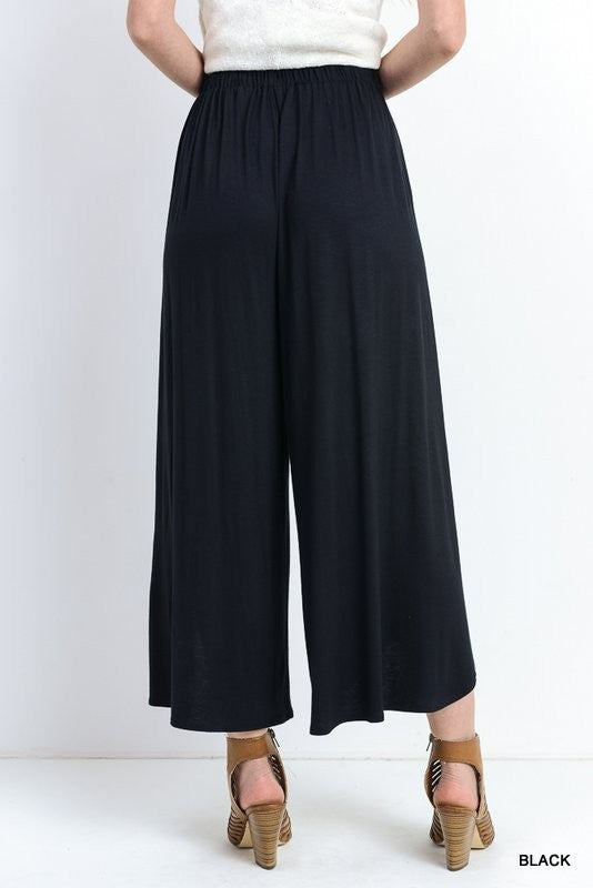 Black Flowy Pants