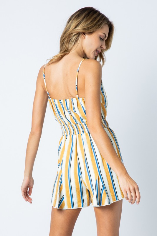 Tutti Fruiti Striped Romper