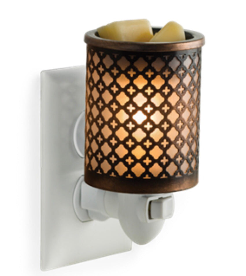 Metal Plug in Warmer