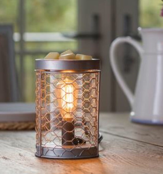 Farmhouse Chicken Wire Warmer