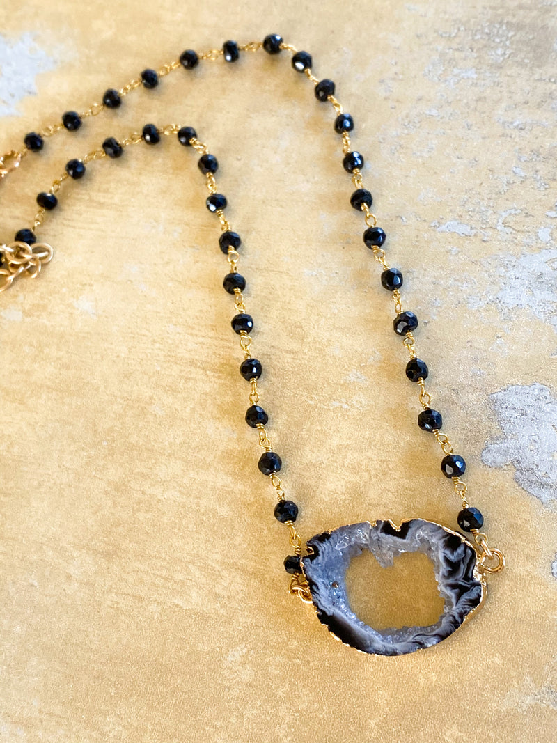 Druzy Madeline Necklace