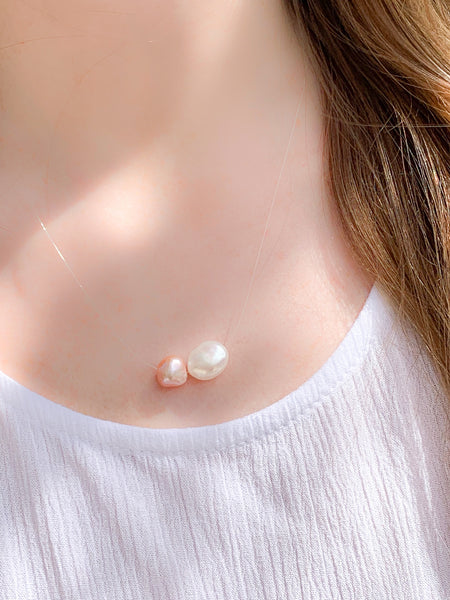 Floating Pearl Nick's Cove Necklace