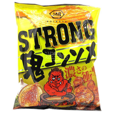 STRONG鬼清湯味薯片