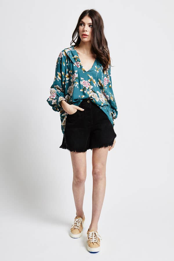 currency dolman top in mykala floral - Piper & Chloe