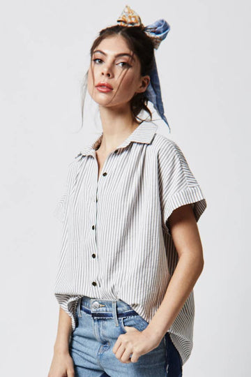 hiatus skipper striped top - Piper & Chloe