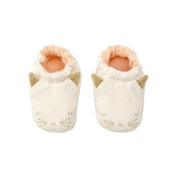 cat baby booties - Piper & Chloe