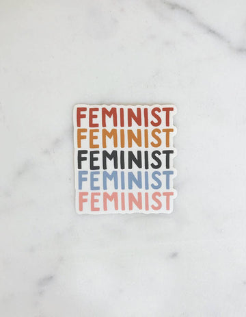 sticker in feminist - Piper & Chloe