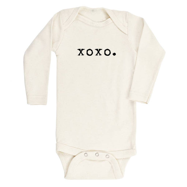 xoxo long sleeve onesie