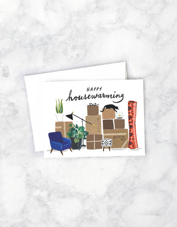 greeting card - happy housewarming - Piper & Chloe