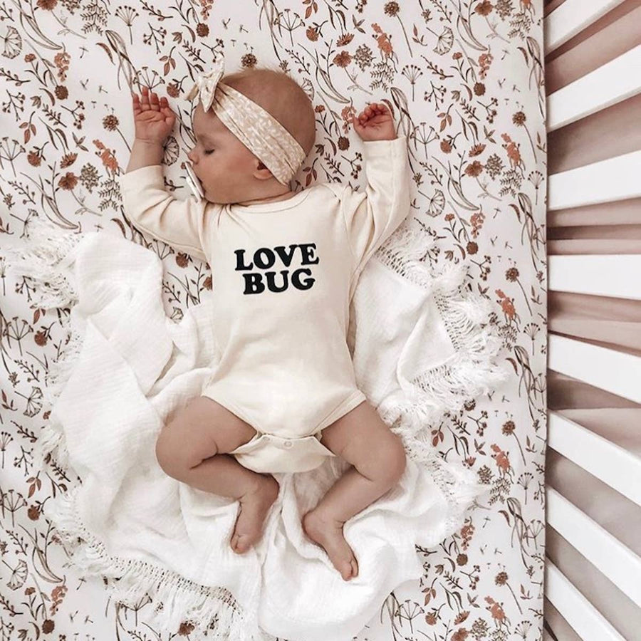 love bug long sleeve onesie - Piper & Chloe