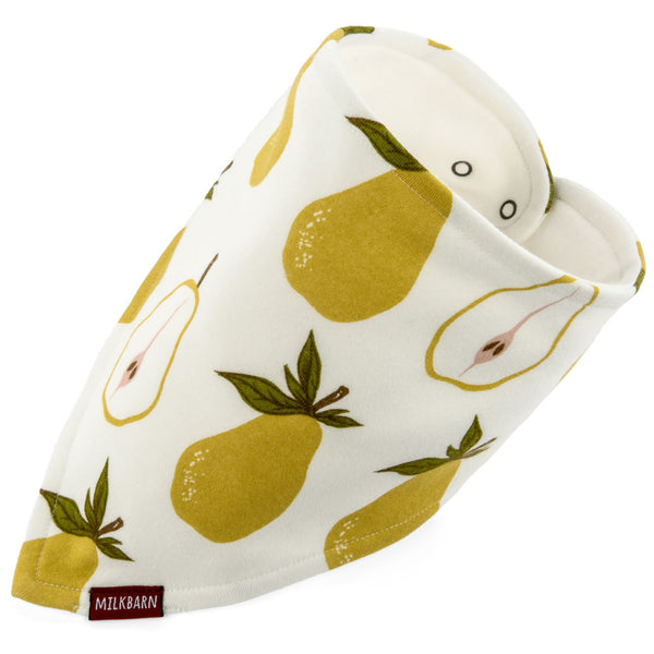 kerchief bib in pear