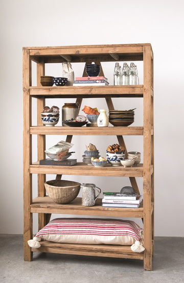 found wood shelf unit - Piper & Chloe