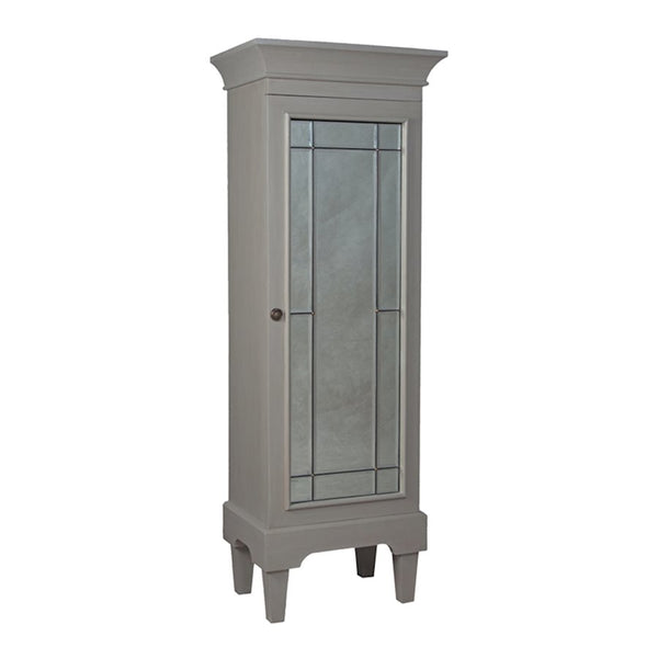 manor mirrored armoire