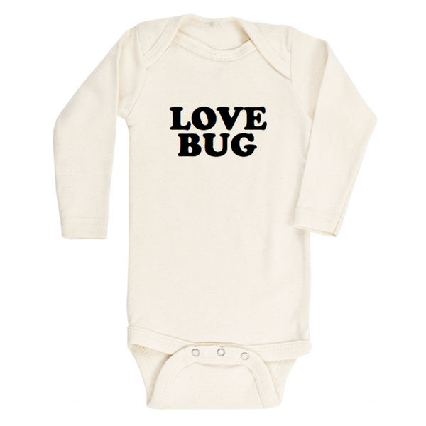 love bug long sleeve onesie